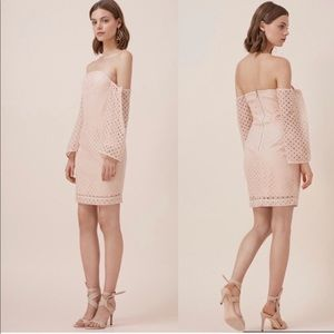NEW KEEPSAKE THE LABEL PEACH DRESS